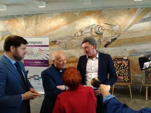 Spanish philanthropists visit Chernobyl