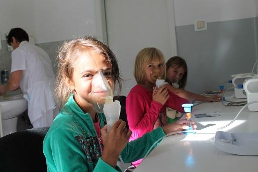 Десант маленьких чернобыльцев в Закарпатье