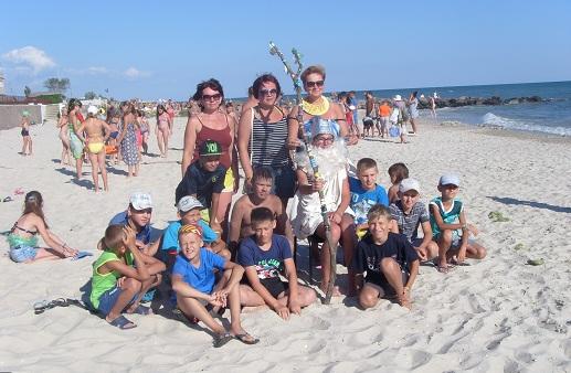 Черноморское лето народичских школьников