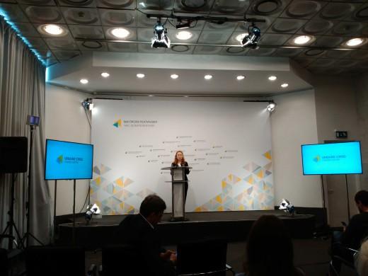 Прес-брифінг щодо проблем чорнобильських дітей