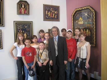 Young artists Zhitomir at the Eternal City