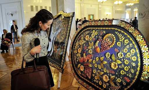 Art treasures of the Drevlyan land - in the Verkhovna Rada